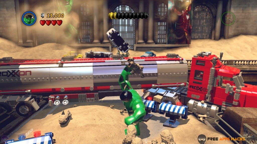 LEGO Marvel Super Heroes ALL Heroes, Vehicles, Levels and Secrets ...