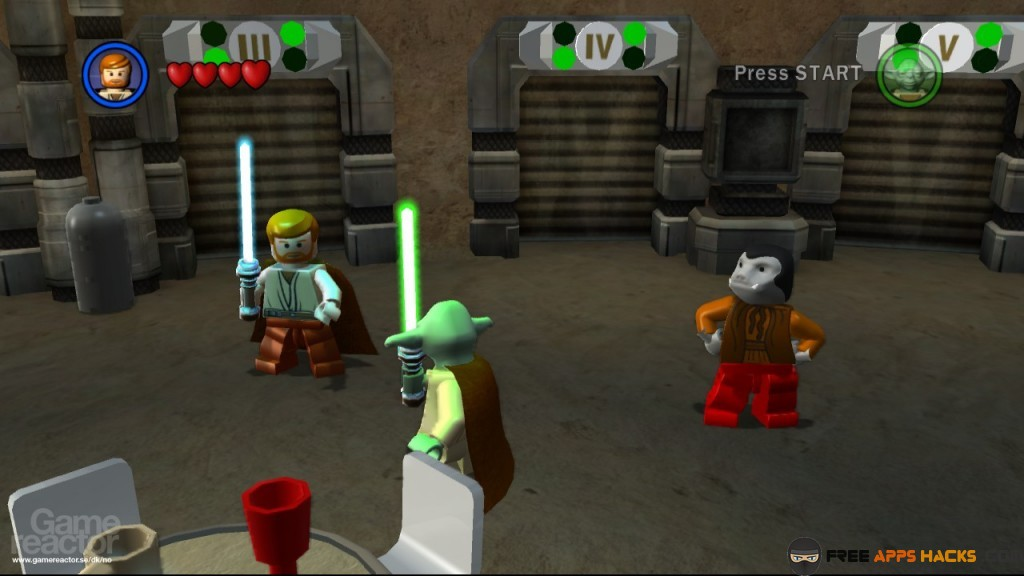 Lego Star Wars The Complete Saga All Characters Force Powers