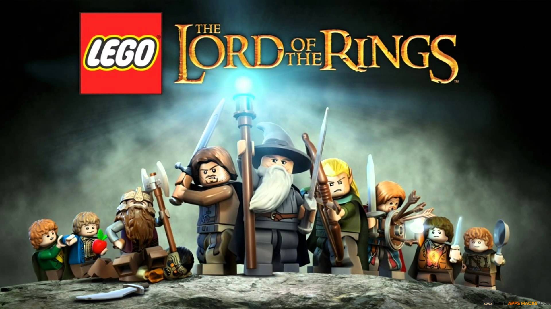LEGO The Lord Of The Rings 2018 - Characters, Passwords, Cheat Codes