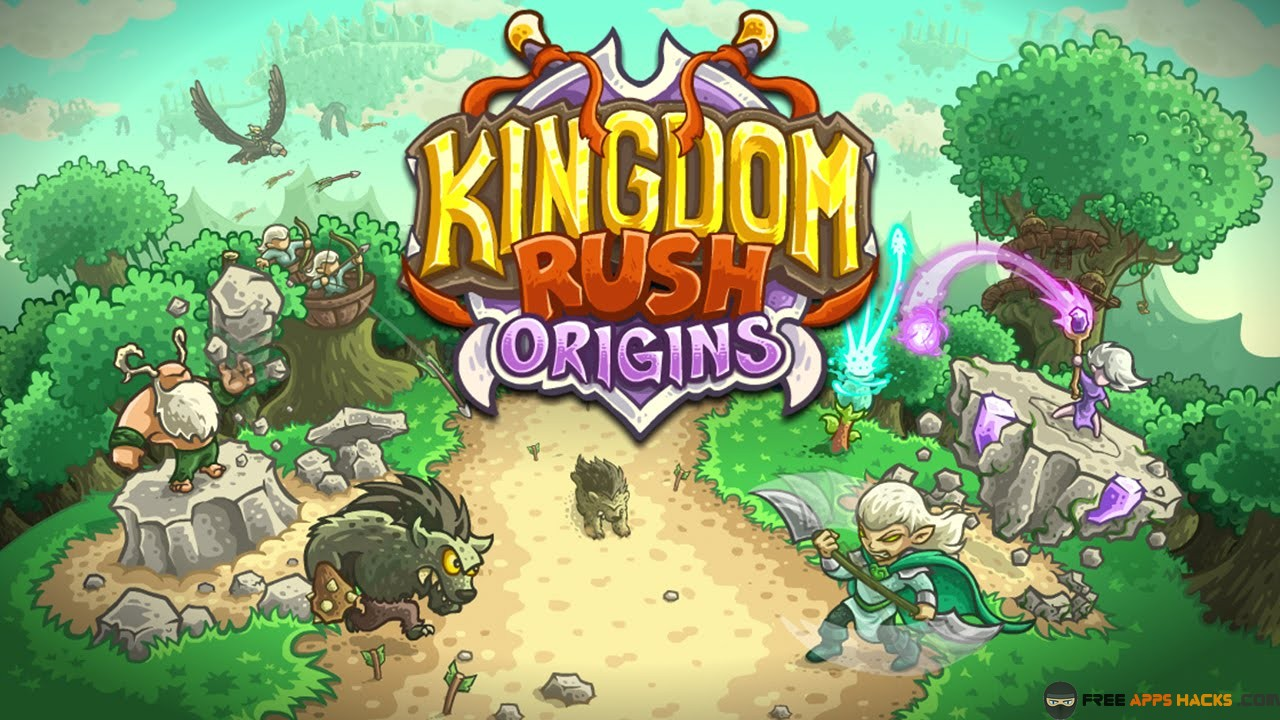 kingdom rush origins apk all heroes unlocked