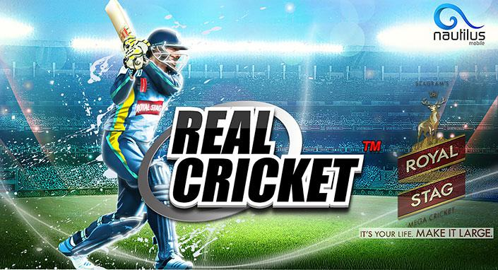 Real Cricket game এর ছবি ফলাফল