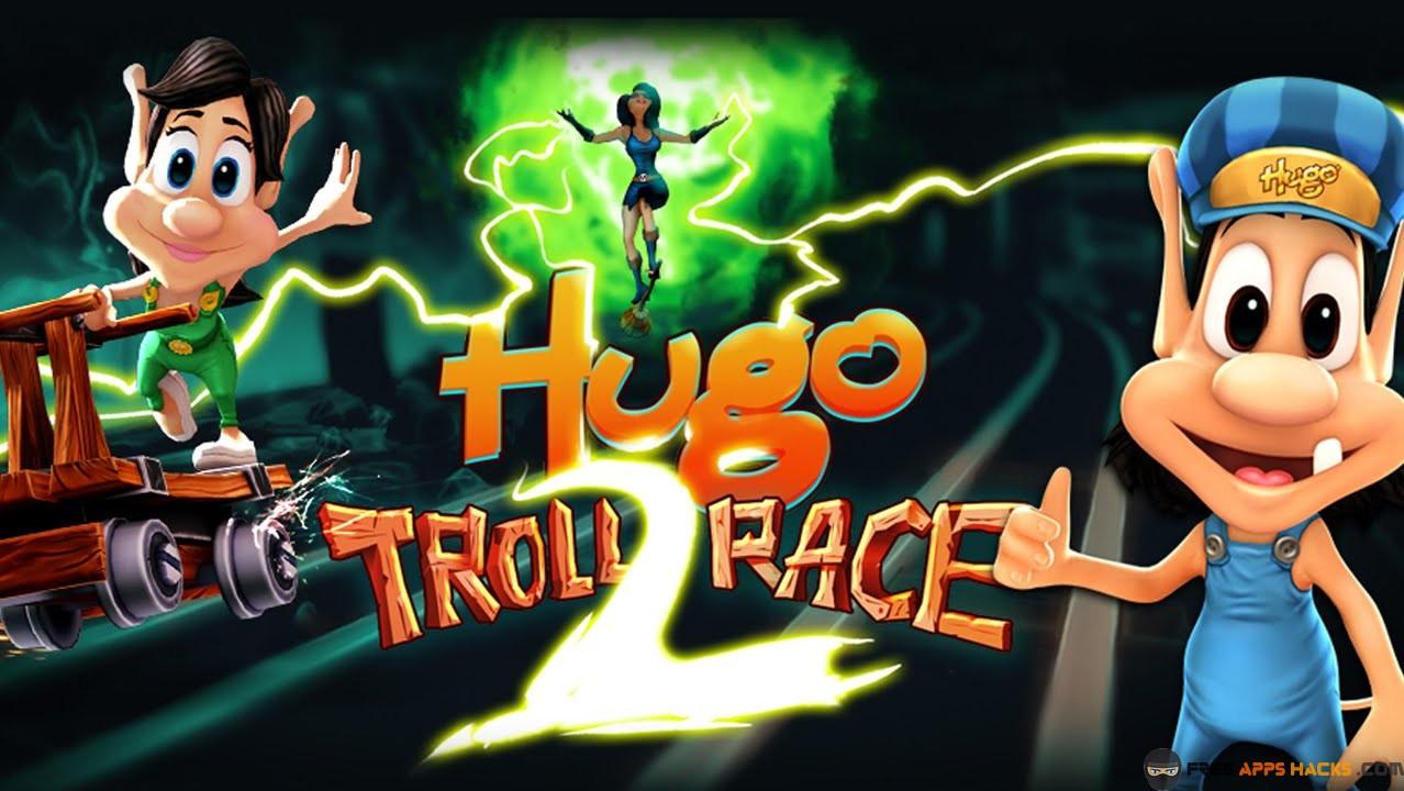 Hugo Troll Race 2 2016 Modded Apk - Unlimited Money Race 2
