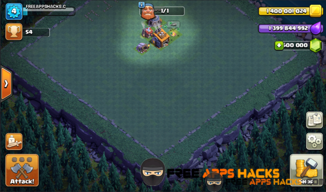Clash Of Clans 2017 Modded APK for Unlimited Gold, Gems