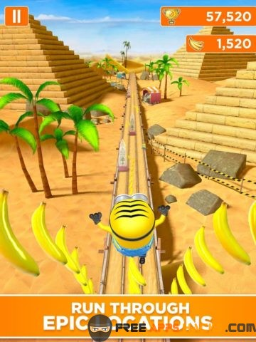 Minion Rush: Despicable Me 2017 Modded APK - Unlimited Free Shopping