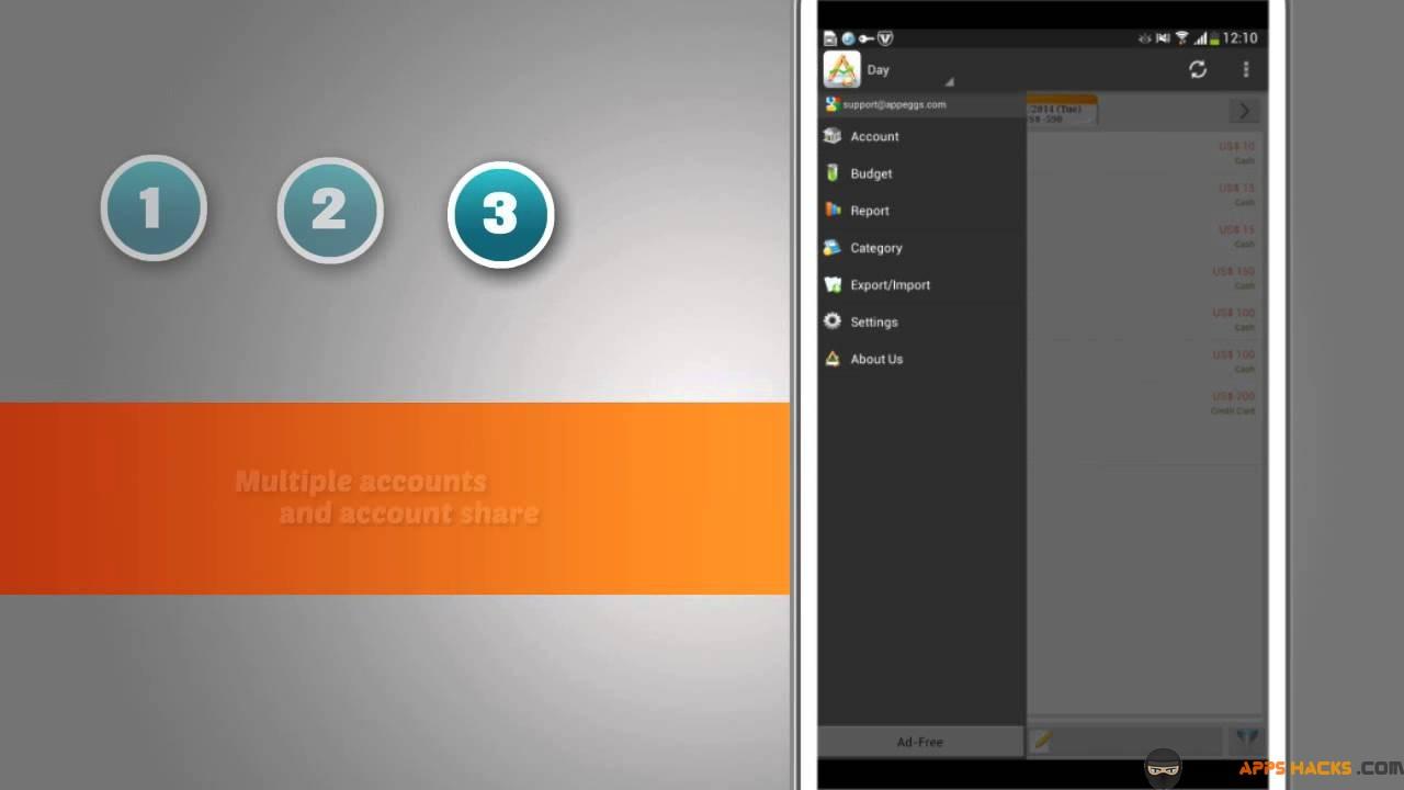AndroMoney Pro Modded APK Android App - Free App Hacks