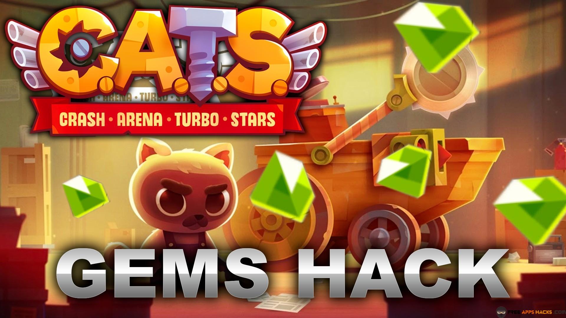 CATS Crash Arena Turbo Stars Modded APK Unlocked Android App