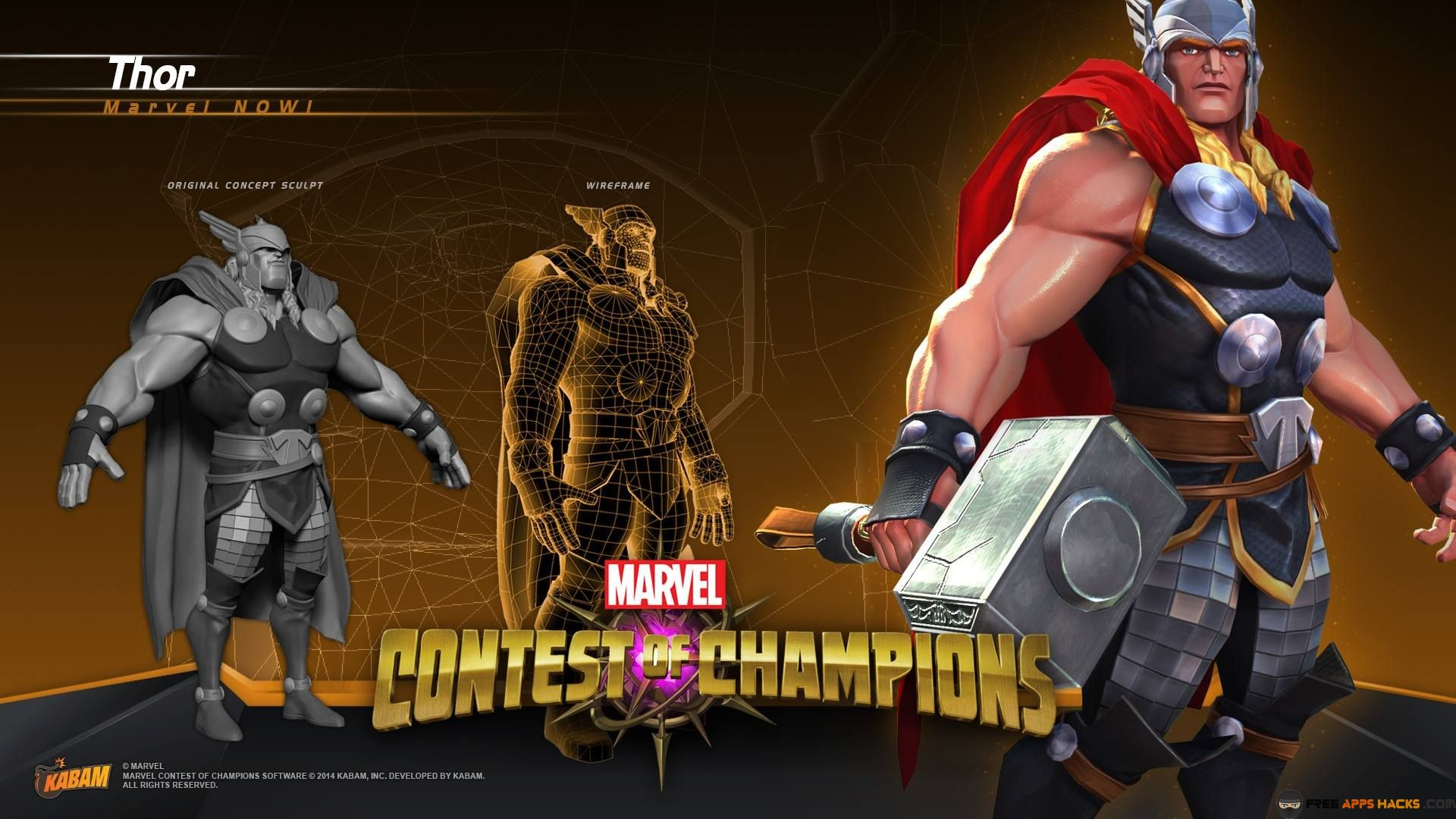 MARVEL Contest of Champions Modded APK Unlocked Android App