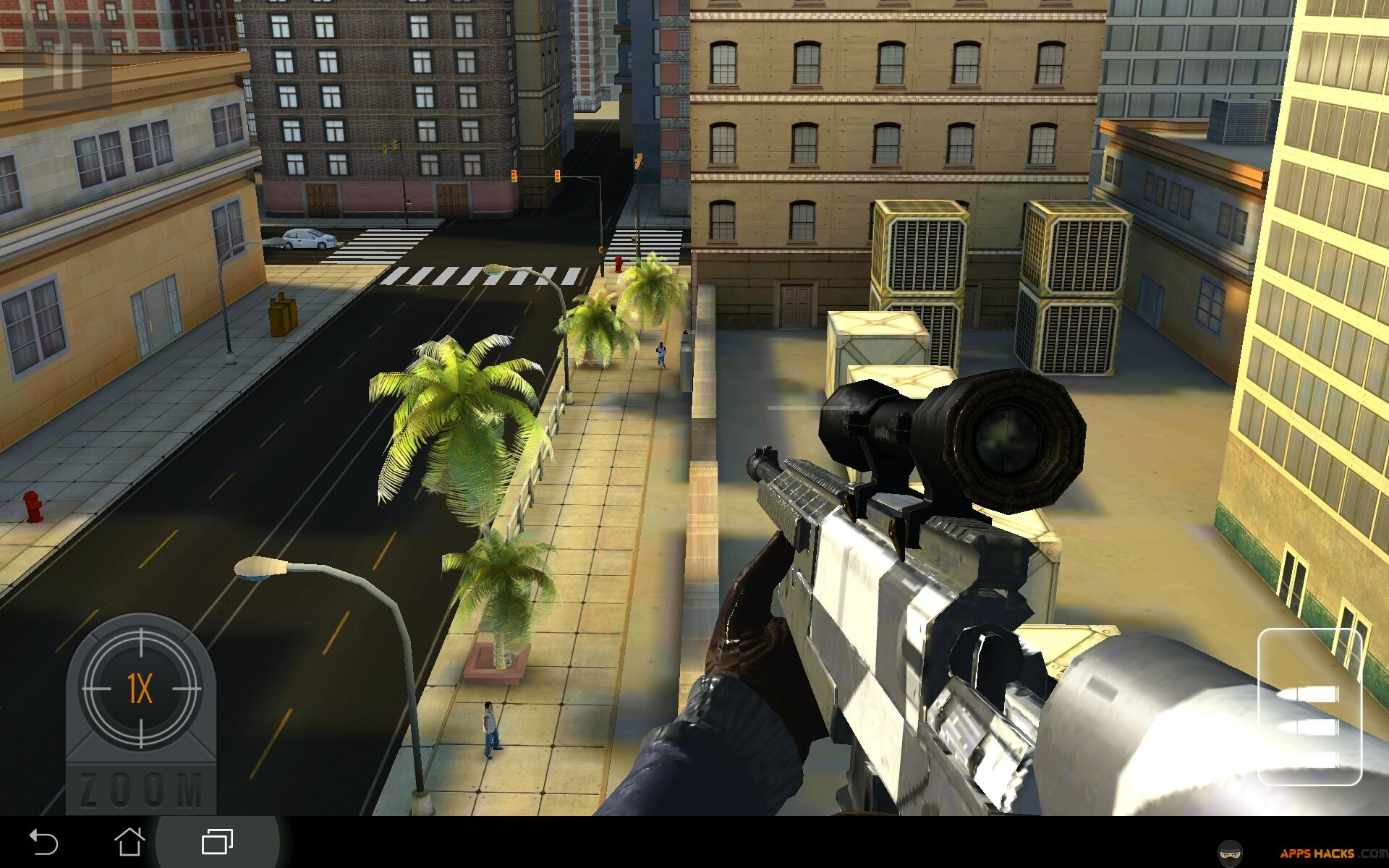 Sniper 3D Assassin Gun Shooter Modded APK Free Gold Android App