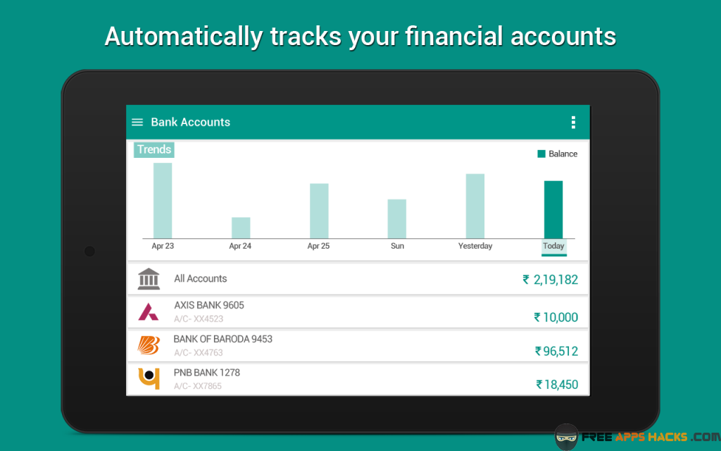 Expense Manager Pro Modded APK Android App - Free App Hacks