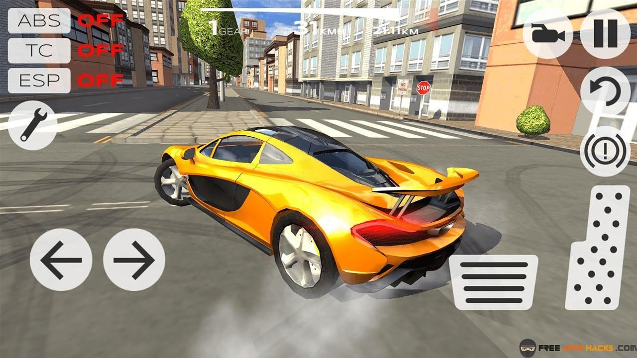 Extreme Car Driving Simulator Modded Apk Unlimited Money Android App