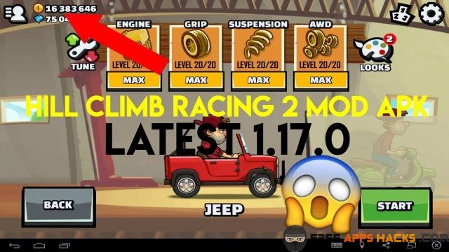 Hill Climb Racing 2 Modded APK No Restrictions Android App
