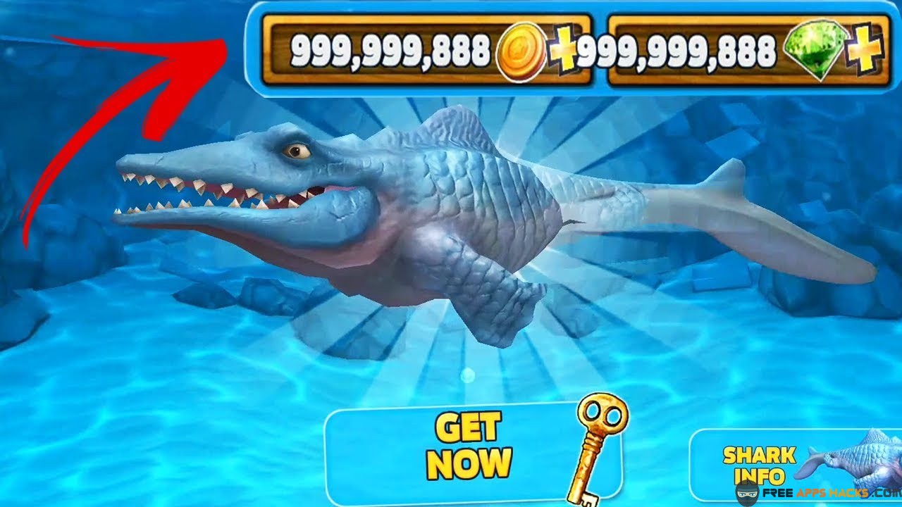 Hungry Shark Evolution Modded APK Unlimited Coins Android
