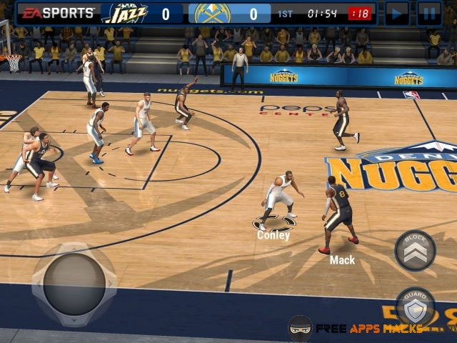 ebcb7bd7a Graphics. The graphics of NBA live mobie basketball modded apk unlocked ...