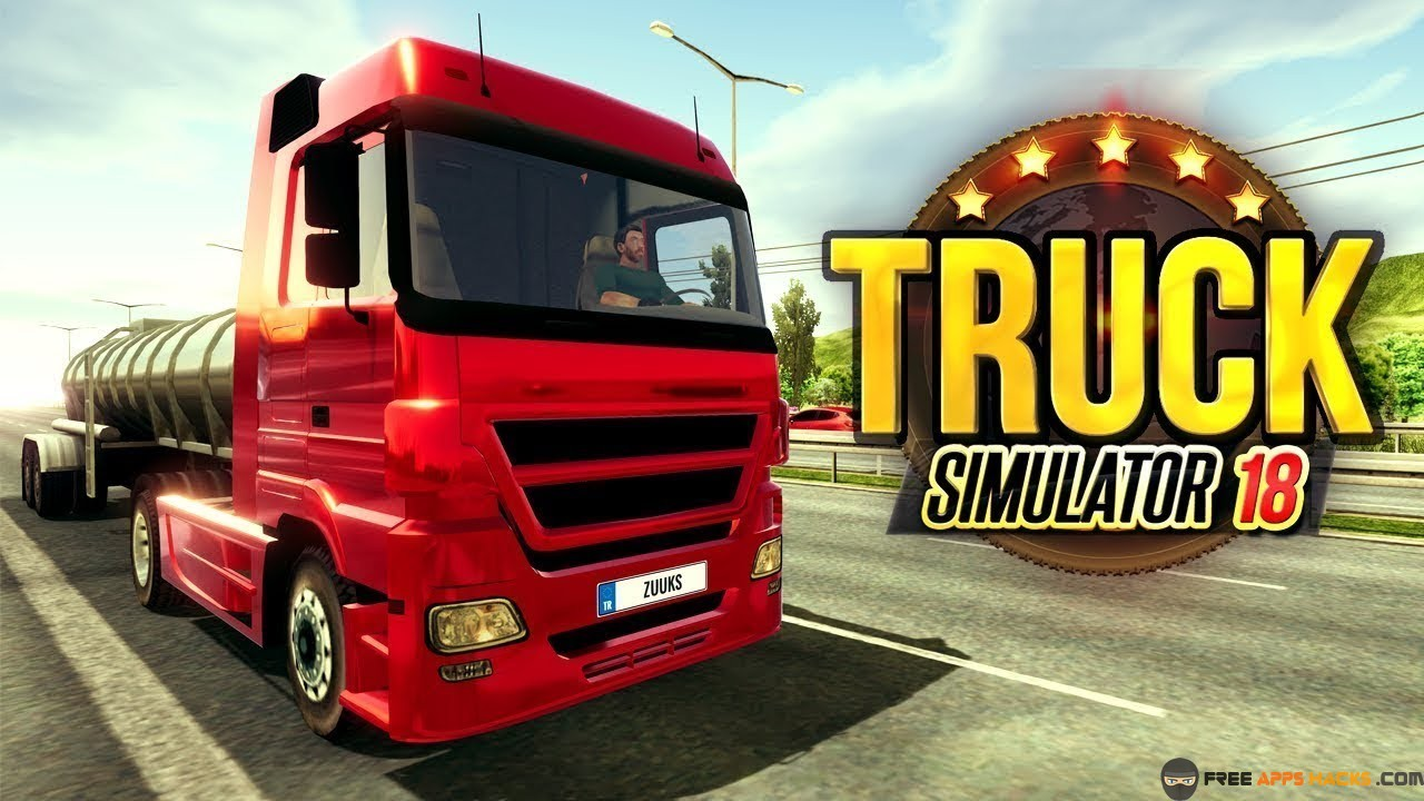 Truck Simulator 2018 Europe Modded APK Unlimited Money