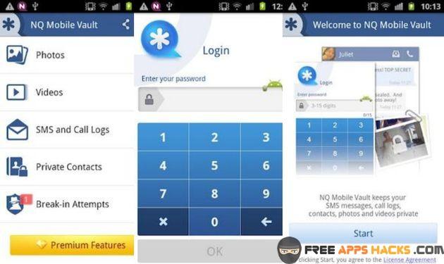 Vault Hide SMS Pics & Videos Premium Modded APK Android App - Free