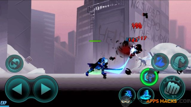 Zombie Avengers Stickman War Z Modded APK Free Shipping Android App