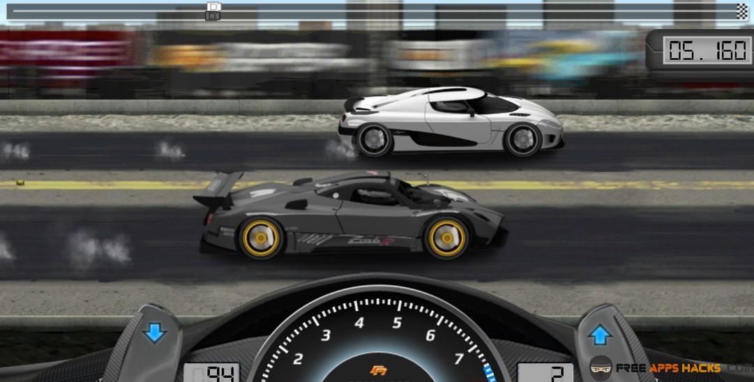 Best gear ratio for door slammers drag racing game