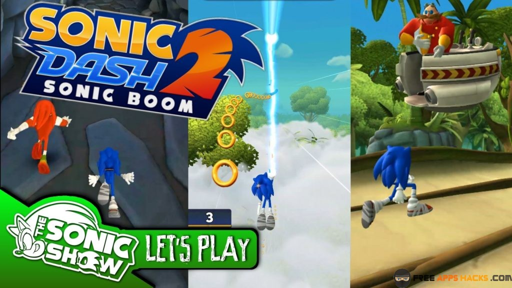 Sonic Dash 2 Sonic Boom Modded APK Unlimited Money Android