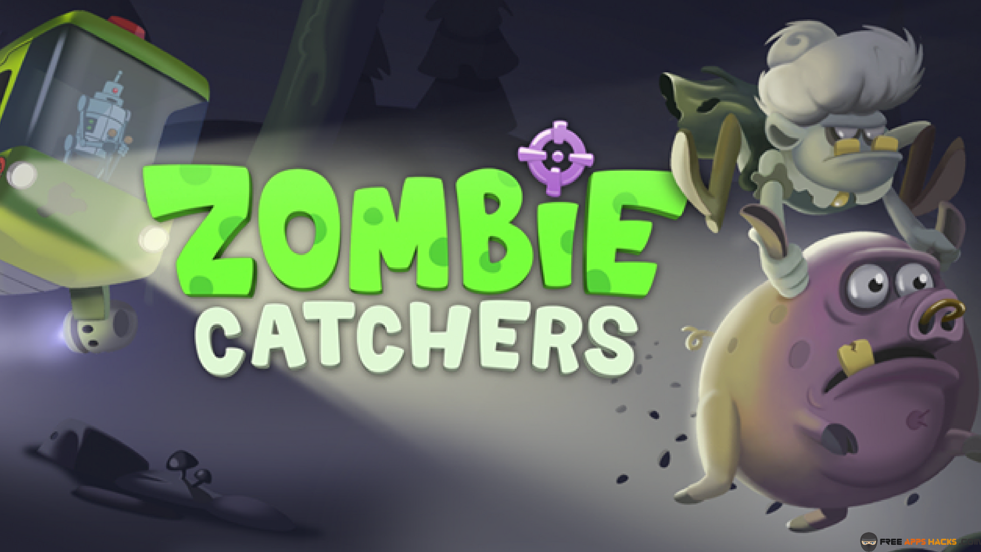 Zombie Catchers Modded APK Unlimited Money Android App - Free App Hacks