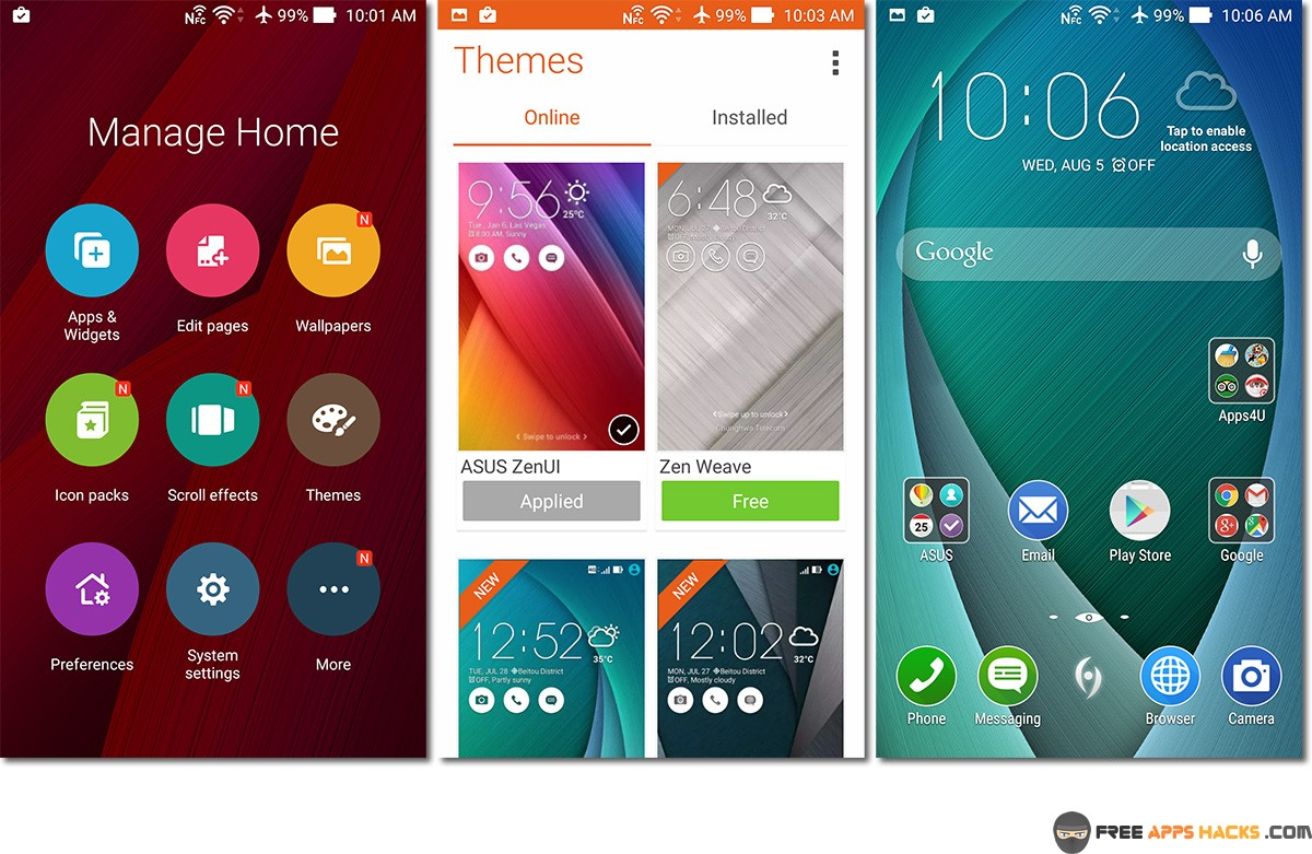 zenui launcher apk for android