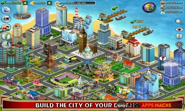 Builder game unlimited money