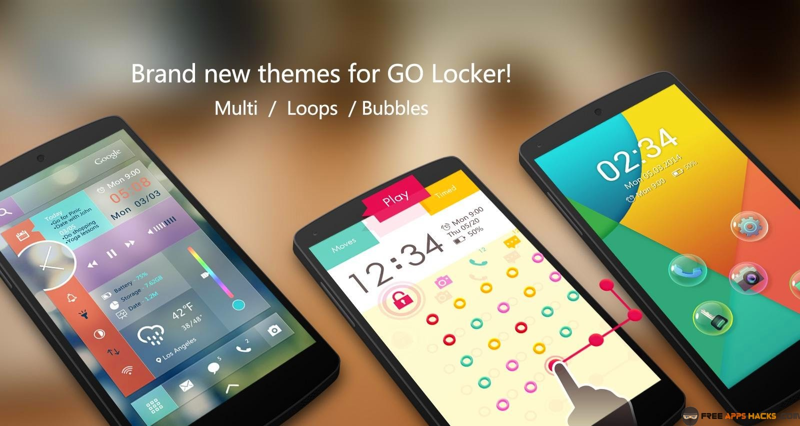 Go Locker - Theme & Wallpaper Vip Free Modded APK Android App - Free