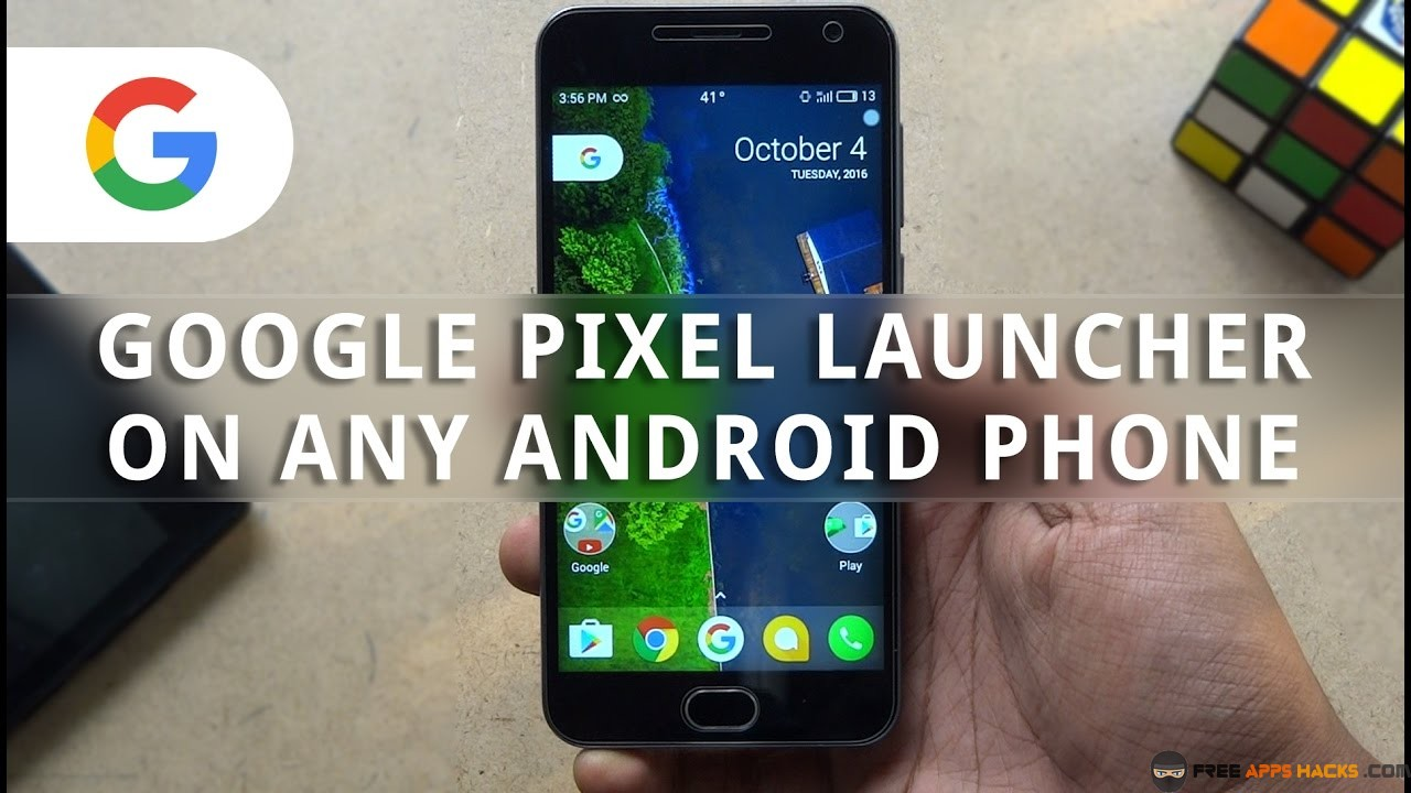 Pixel Launcher Free Modded APK Android App - Free App Hacks