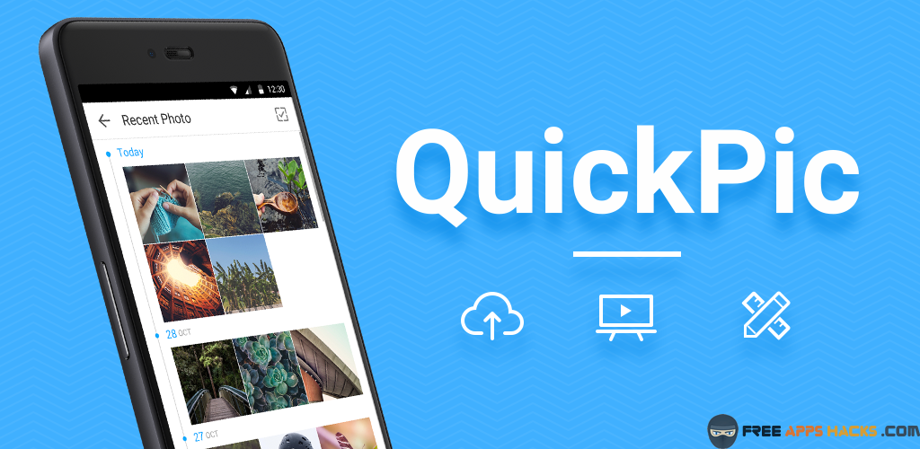 QuickPic Gallery Free Modded APK Android App - Free App Hacks