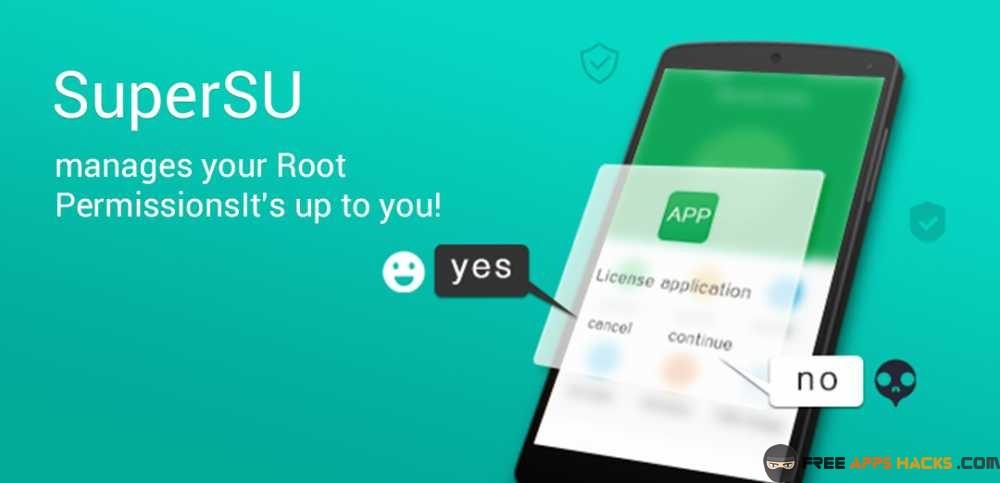 SuperSU Pro Free Modded APK Android App - Free App Hacks