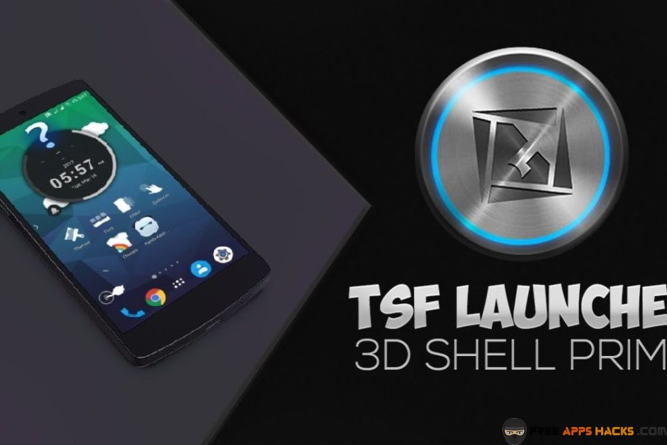 TSF Shell 3D Launcher Prime Free Modded APK Android App