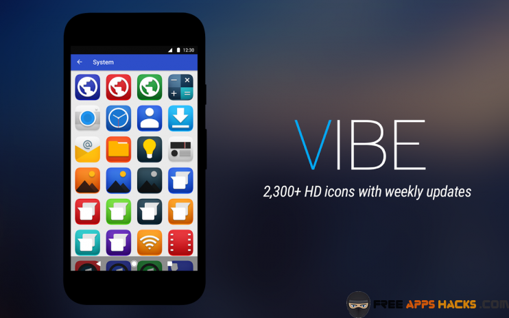Vibe Icon Pack Modded APK Android App - Free App Hacks