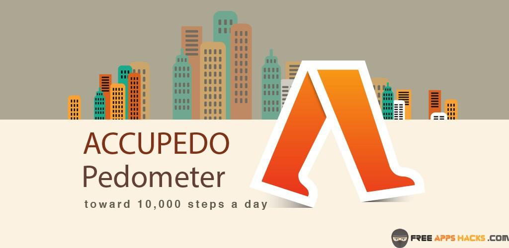 Accupedo-Pro Pedometer Mod APK Android App - Free App Hacks