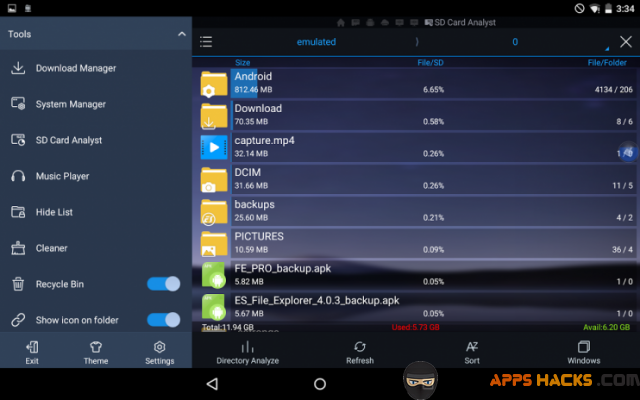 ES File Explorer Manager Pro Free Modded APK Android App