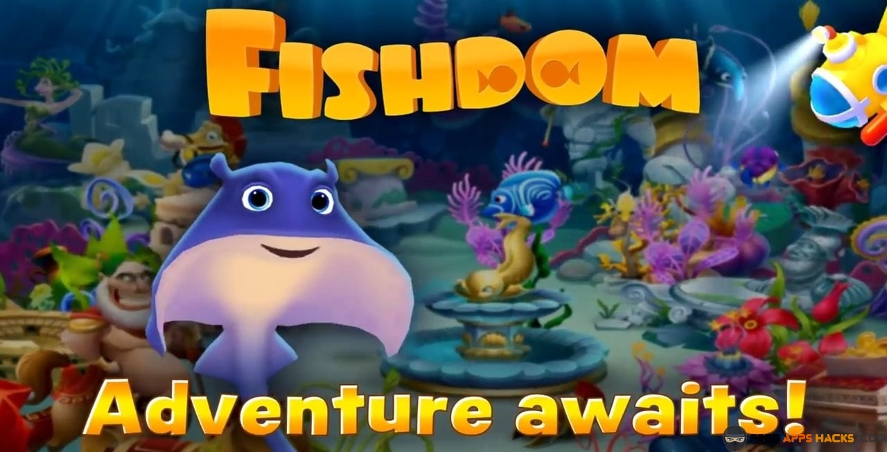 download fishdom 2 mod apk