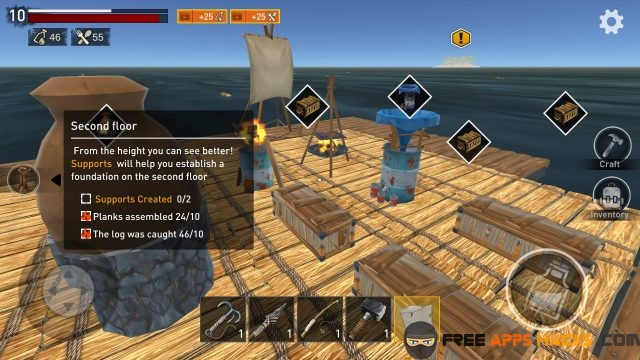 Raft Original Survival Game Mod APK - Free App Hacks
