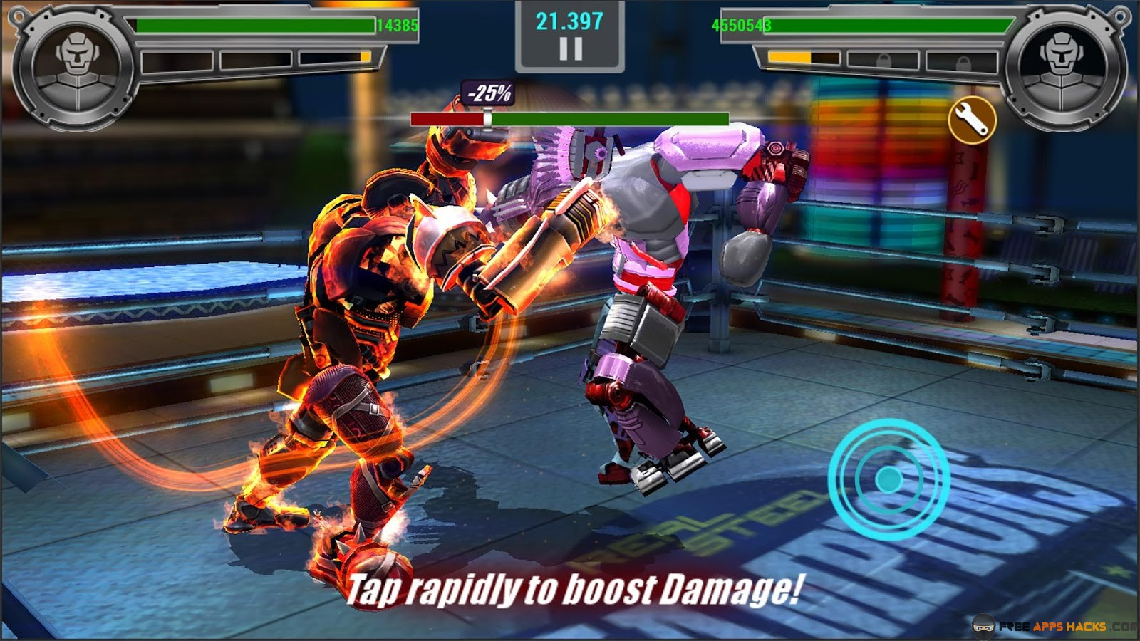 real steel champions mod apk rexdl