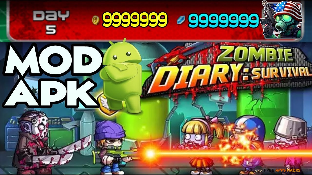 Zombie diary 2 cheats free download
