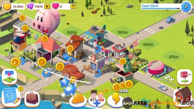 build away idle city game