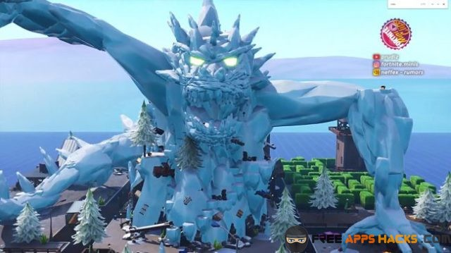 ice dragon fortnite 2020